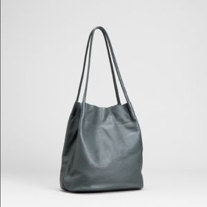 Elk Brand Orsa Leather Bag in Slate